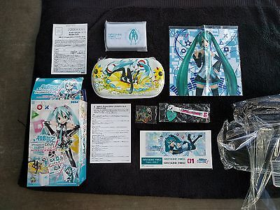 Hatsune Miku PS Vita Accessory Bundle Vocaloid,case,wrist strap,cleaning cloth++
