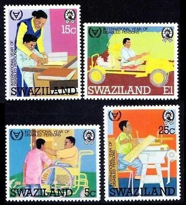 Swaziland 1981 Disabled Persons  MNH