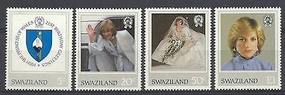Swaziland 1982 21st Birthday of Princess of Wales  MNH
