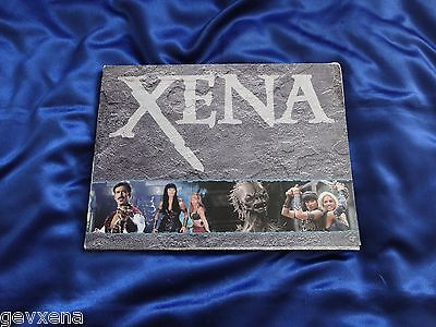 VERY RARE OFFICIAL Xena Promo SEASON 4 Press Kit With Photo, Information Packets