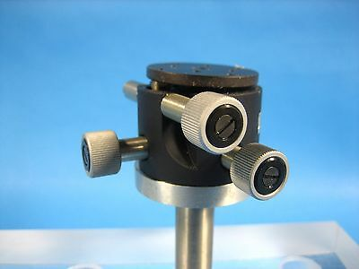 """Micro-Controle Tilt Rotate Mount 1.25"""" Dia Mounting Plate"""