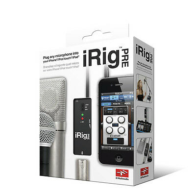 IK Multimedia iRig PRE XLR Microphone Audio Interface for IOS