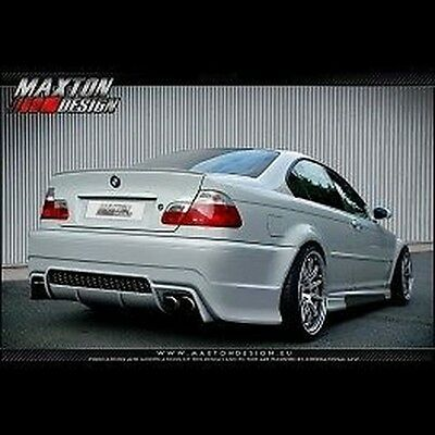 BMW Serie 3 E46 Sedán Parachoques Trasero Tuning Generation V maxton design