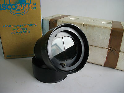 ISCO Optics Cinelux 3D 70mm MC Stereovision Projection Lens With Box Hood