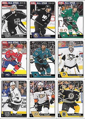 U PICK EM LOT 16-17 2016-17 OPC O-Pee-Chee Base Set cards Any 4 for $1 SEE LIST
