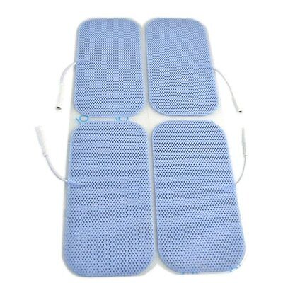 4 TENS Electrode Pads Maternity Labour Back Pain Large 4.5x9.5cm HIGH QUALITY