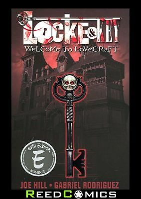 LOCKE AND KEY VOLUME 1 WELCOME TO LOVECRAFT GRAPHIC NOVEL New Paperback