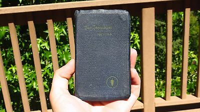 WW2 US Army Military Bible Pocket Devotional Prayer Book for Servicement Psalms