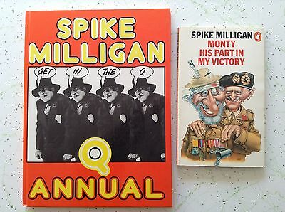 2 SPIKE MILLIGAN BOOKS Bulk Lot