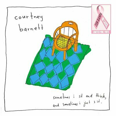 Courtney Barnett Sometimes I Sit And Think & Sometimes PINK vinyl LP NEW/SEALED