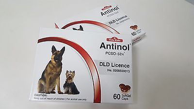 ANTINOL 100% Natural Joints Skin Allergy Cardiovascular 60 tablets