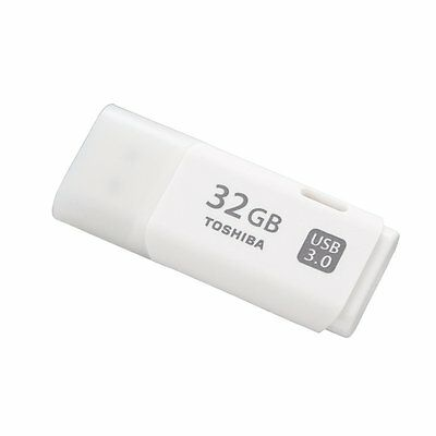 Toshiba TransMemory U301 32 GB USB 3.0 Flash Drive Blanco