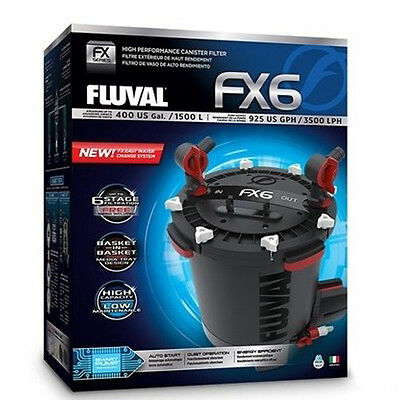 Fluval FX6 High Performance Canister Filter Fish Tank External Filter