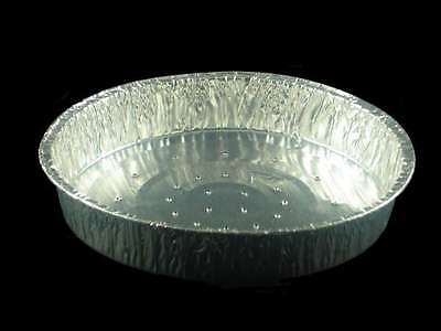 "*6"" Individual Round Foil Flan Dishes Lanced, Quiche-pie, Aluminium Trays  BF013"