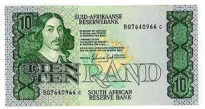 South Africa ... P-120d ... 10 Rand ... ND ... *VF-XF*