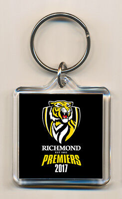 Richmond Tigers 2017 Premiers Limited Edition Premiership Commemorative Keyring