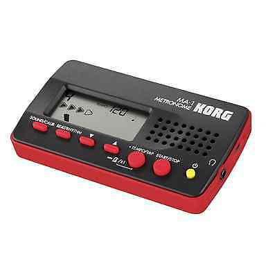 Korg MA-1 Digital Metronome Black/Red - Free UK Delivery