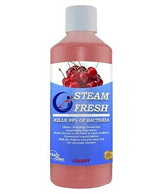 STEAM CLEANER FLUID FOR ALL MACHINES - CHERRY 500ml