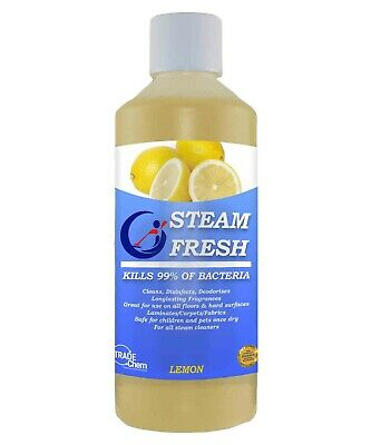 STEAM CLEANING FLUID FOR ALL MACHINES - LEMON 500ml