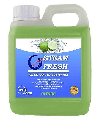 Steam Cleaner Fluid For All Machines - Citrus 1L