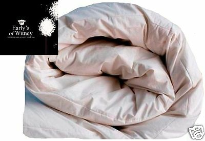 Double Size of 15.0 TOG White Goose Feather & Down Duvet  Winter Warm