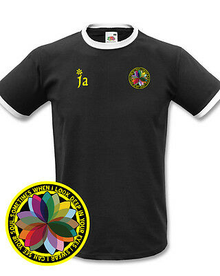 James Sometimes Football Retro Ringer Style T-Shirt - All Sizes & Colours