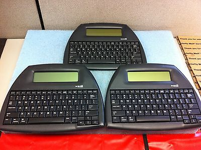 (Lot of 3) ALPHASMART NEO 2 Word Processor Systems TESTED - O4148