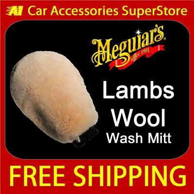 Meguiars Luxury LambsWool Wash Mitt Car Shampoo A7301 Super Soft