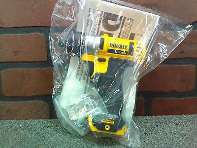 "Dewalt DCF610B 1/4"" 12V MAX Lithium Ion Cordless Screwdriver Bare-***NEW***"