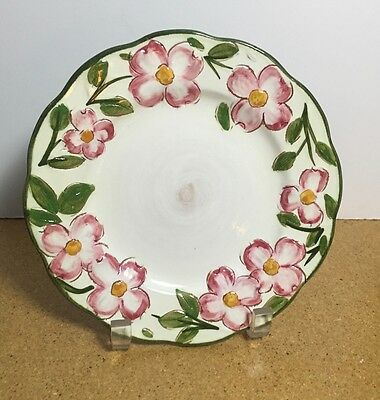 1 - 4 Salad Plates in Pink Dogwood by Stangl - MINT Condition