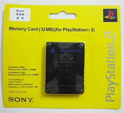 New 32MB PS2 Memory Card for Playstation 2