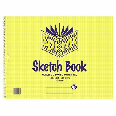 Spirax No. 579B Sketch Book 80 Page
