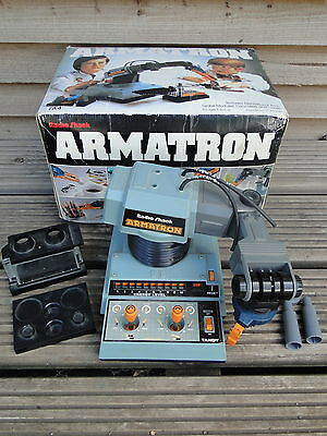 Vintage Boxed 1980's Tandy Armatron Robotic Arm Fully Working