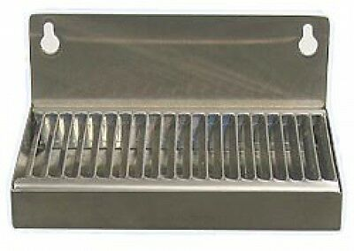 Tray Drip Beer Stainless Draft Drain Steel Mount Wall Surface Spill Bar