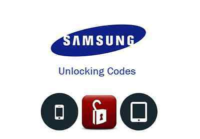 Samsung Europe Galaxy/Note 4 5 7 S6 S7 Unlock Code. All Samsung Europe Models