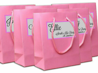 Personalised Hen Party Bag Bride Gift Vintage Classy Elegant Pink Night Do Name