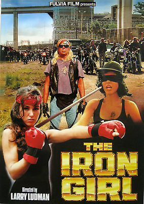 Mini Poster film THE IRON GIRL 1994 Sarah Brooks Richard Goon Larry Ludman