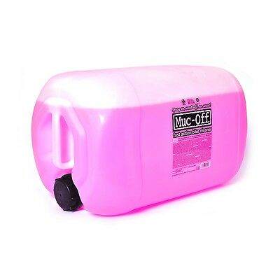 New Muc-Off Motorcycle Bike Care Maintenance Nano Tech Cleaner Fluid 25L - M906