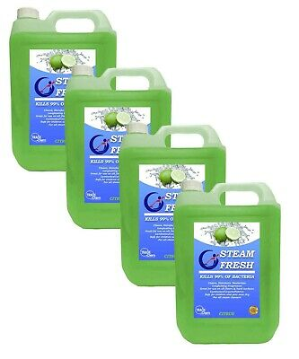 Steam Cleaning Detergent Solution-Cleaner Fluid For All Machines - Citrus 20L