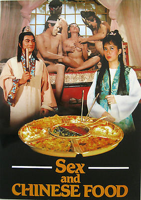 Mini Poster film SEX AND CHINESE FOOD 1993 Young Sean Ben Lui Lily Li Leby Ngai