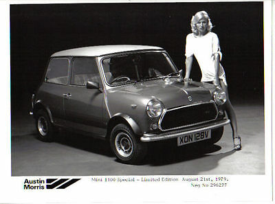 Mini 1100 Special Limited Edition Original b/w Press Photograph No. 296277