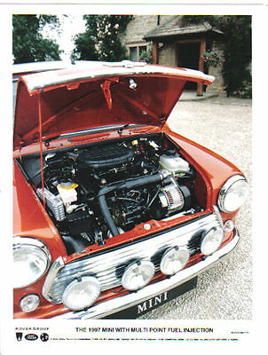 Rover Mini Multipoint Fuel Injection Engine 1997 original Press Photo No. 773