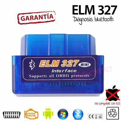 DIAGNOSIS MULTIMARCA PARA COCHE v2.1 MINI ELM327 OBDII BLUETOOTH