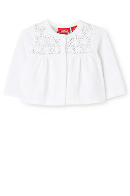 NEW Sprout Crochet Cardigan White