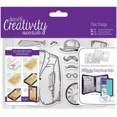 DoCrafts: A6 Clear Stamp Set - Mister