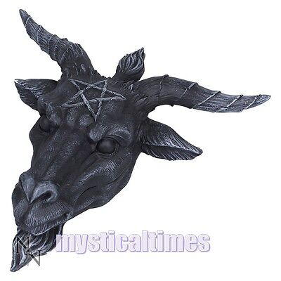 New * Baphomet * Goat Of Mendes Figurine Statue Nemesis Now Free Post D2626