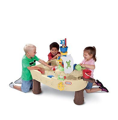Little Tikes Anchors Away Pirate Ship Water Play Table Outdoor Water Play Table