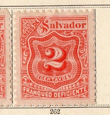 El Salvador 1896 Early Issue Fine Mint Hinged 1c. 094098