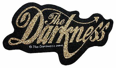 """The Darkness"" English Glam Metal Rock Band Music Woven Sew On Applique Patch"