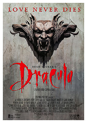 Bram Stoker's Dracula (1992) - A1/A2 POSTER **BUY ANY 2 AND GET 1 FREE OFFER**